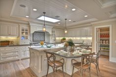 Ranch-style House | Lovely Ranch House Design Idea : Magnificent Ranch Style House Kitchen ...