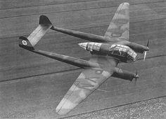 Focke Wulf Fw 189 Prototype D-OPVN over Germany, 1939. WRG# 0017682