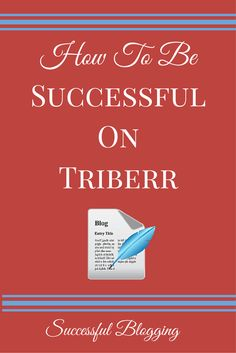 How To Be Successful On Triberr [Infographic]