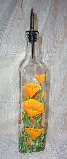 Dispensador botella de aceite dispensador por PaintandPencilsArt