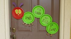 Project Nursery - The Very Hungry Caterpillar Using Paper Plates