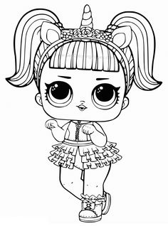 Printable LOL Doll Coloring Pages - Free Coloring Sheets Printable LOL Doll Coloring Pages. Find out our collection of LOL Doll coloring pages below. Your children surely will love these images. Tattoo Coloring Book, Mermaid Coloring Pages, Free Coloring Sheets, Coloring Pages For Girls, Cartoon Coloring Pages, Animal Coloring Pages, Coloring Pages To Print, Printable Coloring Pages, Coloring Rocks