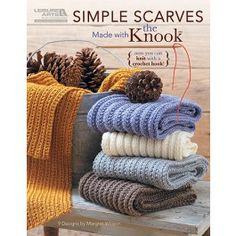 Simple Scarves Made with the Knook Digital Download $5