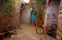Chios Greek House, Chios, Greece, Around The Worlds, Explore, Street, Arches, Gates, Nature