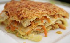 Wunderbare Spitzkohl - Möhren - Lasagne, ein sehr schönes Rezept aus der Kategorie Gemüse. Bewertungen: 114. Durchschnitt: Ø 4,3.