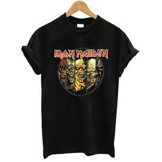 Iron Maiden Eddie Evolution tshirt #clothing