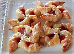 Puff Pastry Berry Pinwheels