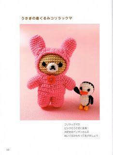 Cute Amigurumi Bear Free Crochet Pattern And Tutorial : 1000+ images about Crochet: Amigurumi #2: Bears on ...