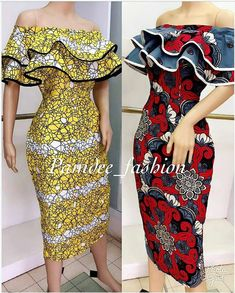 or Red ? ( swipe) Both dresses are available in size uk Price: Midi length off shoulder dress Call/whatsapp 233501099346 Worldwide delivery available at a charge Order/Pay/Receive Latest Ankara Dresses, Ankara Dress Styles, African Fashion Ankara, Latest African Fashion Dresses, African Dresses For Women, African Print Dresses, African Print Fashion, African Attire, Ankara Gowns