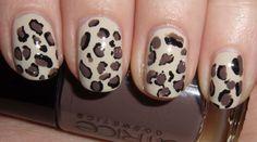 Leopard Nail Art (zonder Konad!)