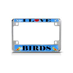 Shop over license plate frames, license plates and motorcycle license plate frames. Motorcycle License, Motorcycle Bike, Custom License Plate Frames, Love Birds, Heavy Metal, Mall, Chrome, Letters, My Love