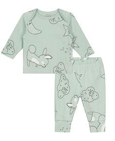 Prenatal jongens pyjama maan ster0