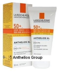 La roche posay Anthelios XL Melt in Cream for Face SPF 50+ Box Made in France by La roche posay Anthelios XL Melt in Cream. $28.17. Anthelios Creme SPF 50+ is designed for sun reactive skin under extreme sunshine intensity. Suitable for normal to dry skin facial use. Ideal for prevention of pregnancy mask and drug-induced photosensitizations. 50 ml/ 1,7oz-Directions Apply evenly before sun exposure.. Reapply every two hours and after each bathering. External use