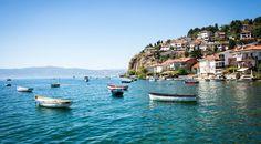 Warum immer nach Italien fahren, wenn es in Ohrid in Mazedonien bestimmt genau so schön ist wie am Garda-See?