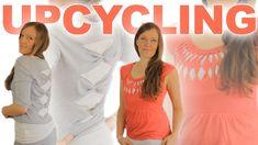 UPCYCLING | 2 DIY IDEEN für alte SHIRTS + Kleider | ohne Nähmaschine