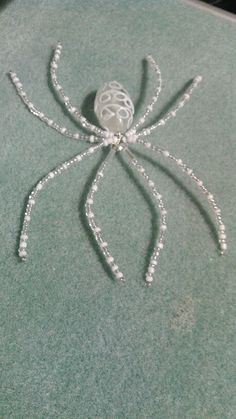 Beaded spider #158