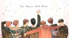BTS WINGS You Never Walk Alone fanart