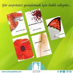 5 Şiir Kitabı Set #poem #poet #sutunyayinlar #kitap