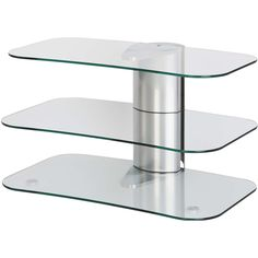 white glass tv stand off the wall - Google Search
