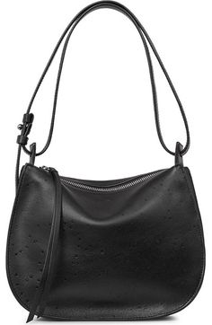 ALLSAINTS Mini Echo Star Embossed Convertible Shoulder Bag. #allsaints #bags #shoulder bags #leather #