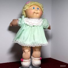 """CPK Cabbage Patch Kids - Coleco HM 3 - 1984 - Blond Hair Blue Eyes - Girl - 16"""""""