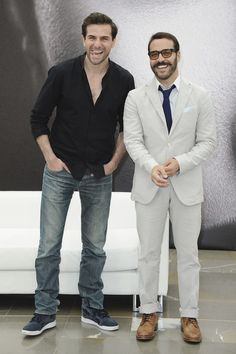 Gregory Fitoussi and Jeremy Piven Photostream / Henri and Mr. Selfridge