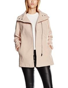 LTB Jeans Onalos Coat Manteau Femme Rose (Mauve Shadows) Large Ltb Jeans, Lego Knights, Purple Coat, Coats For Women, Mauve, Shadows, Medium, Jackets, Fashion