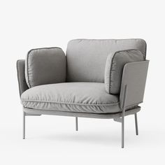 haus® is official stockist of all &Tradition furniture. The Cloud series include a one, two and a three seater sofa and a pouf. Sofa Seats, Sofa Chair, Living Room Chairs, Dining Chairs, Outdoor Furniture Chairs, Floor Protectors For Chairs, Chairs For Rent, Toddler Chair, Small Accent Chairs