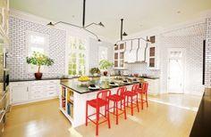 Modern Kitchen by Miles Redd in Houston, TX