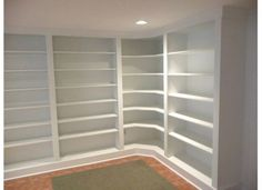 Furniture & Accessories. Plans for Built in Bookcases Design Ideas ...