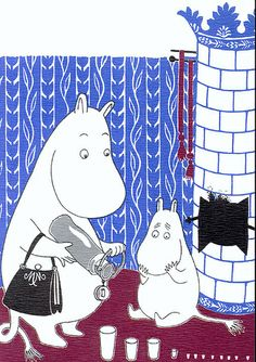 Moomins by ichabodhides, via Flickr