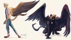 Monster AU by australet789