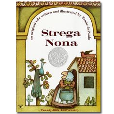 Tomie dePaola. Distinct style, expressive characters, interesting use of symmetry.