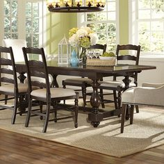 furniture loren dining table more loren dining dining area dining room ...