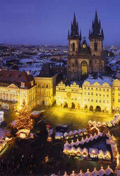 Praga  Mercat Nadalenc