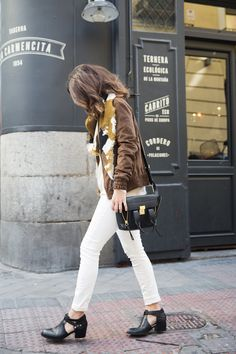 #white trousers