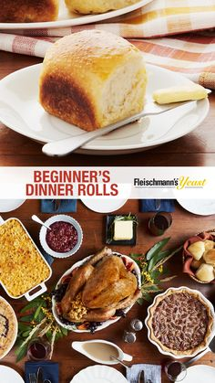 Gathering with family and friends on Thanksgiving Day is a highlight of the fall season – and warm, buttery dinner rolls are the perfect side to bring the whole meal together.
