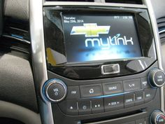 """7"""" Touch Screen . . .AM/FM CD with Pioneer Premium Sound . . . 2014 Chevy Malibu, Tom Clark, Touch"""