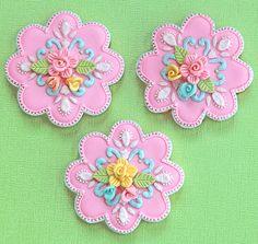 Beautifully decorated sugar cookies