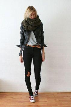 jeans rotos fashion