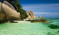 La Digue, Seychelles islands ... Indian Ocean, east of Africa