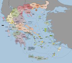 Viaje a Grecia en 32 días Diagram, Map, World, Greece Travel, Islands, Europe, The World, Location Map, Maps