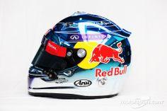 Sebastian Vettel, Red Bull Racing (2014) - side