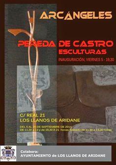 La Buhardilla de Iriadora: Arcángeles. Exposición de Pereda de Castro