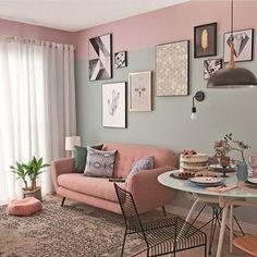 33 Vintage Room Ideas – Wohnzimmer Gemütlich - New Sites Home Living Room, Apartment Living, Living Room Decor, Bedroom Decor, Wall Decor, Home Interior, Interior Design Living Room, Living Room Designs, Apartment Interior