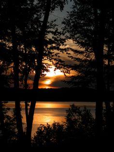 Sunset in Nominingue