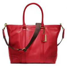 The Bleecker Legacy Business Tote In Leather from Coach...is it bad that I want a man purse?