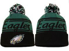 2017 Winter NFL Fashion Beanie Sports Fans Knit hat Philadelphia Eagles Hats 1e12fa1f3
