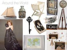 Around the world babies room