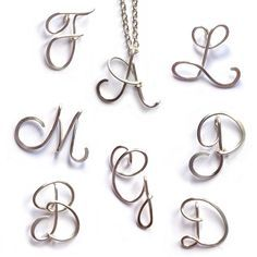 wire alphabet letters - Google Search